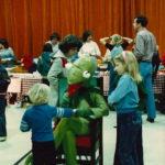 Karen as Kermit the frog